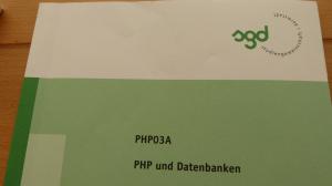 SGD ESA PHP03A Einsendeaufgabe Webdesigner Lösung Lösungshil