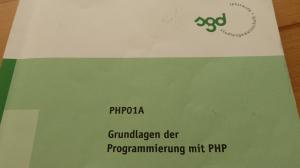 SGD ESA PHP01A Einsendeaufgabe Webdesigner Lösung Lösungshil