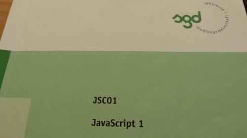 SGD ESA JSC01 Einsendeaufgabe Webdesigner Lösung Lösungshil