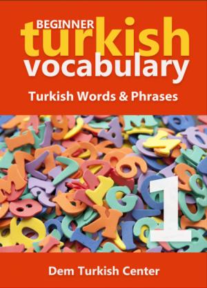 Beginner Turkish Vocabulary Developer
