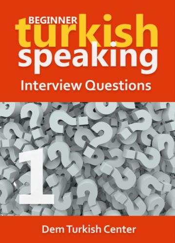 Turkish Conversation Questions 1