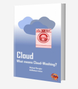 What means Cloud Washing?