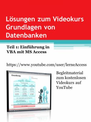 Grundlagen von Datenbanken - Lösungen 1: VBA-Einführung