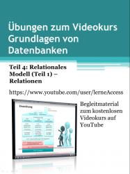 Grundlagen von Datenbanken - Übungen 4: Relationen