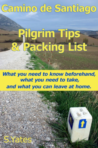 Pilgrim Tips & Packing List Camino de Santiago -