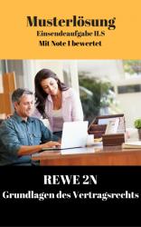 Lösung für Einsendeaufgaben REWE 2N - XX1-A04 Note 1
