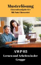 Lösung für Einsendeaufgaben AWP 03 AWP03-XX2-K03
