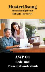 Lösung für Einsendeaufgaben AWP 04 - XX2-K04 Note 1