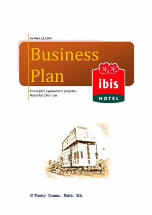 Business Plan - Hotel Ibis Olomouc