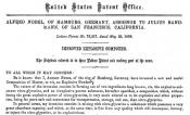 Patentschrift 'Dynamit'
