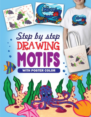 STEP BY STEP DRAWING MOTIFS