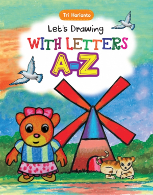 LET'S DRAWING WITH LETTERS A-Z