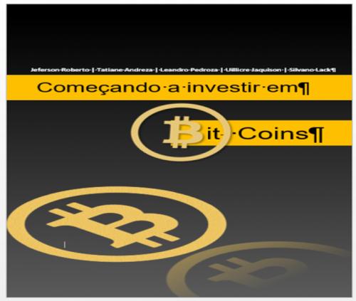 COMEÇANDO A INVESTIR EM BIT COINS