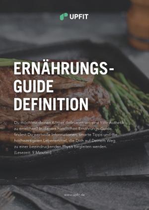 Upfit Ernährungs-Guide Abnehmen