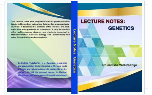 LECTURE NOTES: GENETICS