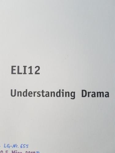 SGD Einsendeaufgabe ELI12 Englisch Note 1,6