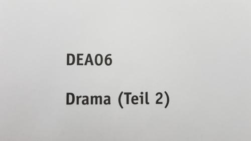 SGD Einsendeaufgabe DEA06 Deutsch Note 1,4