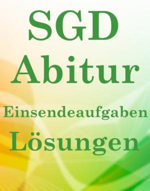 SGD Abitur Lösungsaufgaben MAC 01 XX3