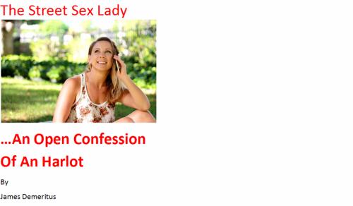 The Street Sex Lady