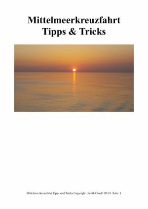 Mittelmeerkreuzfahrt Tipps & Tricks