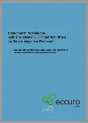 Handbuch: Webinare selbst erstellen