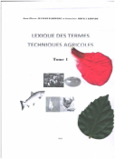 LEXIQUE DES TERMES TECHNIQUES AGRICOLES