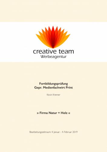 Medienfachwirt / Gesamtplanung inkl. Präsentation / IHK 2019