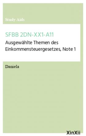 SFBB 2DN-XX1-A11