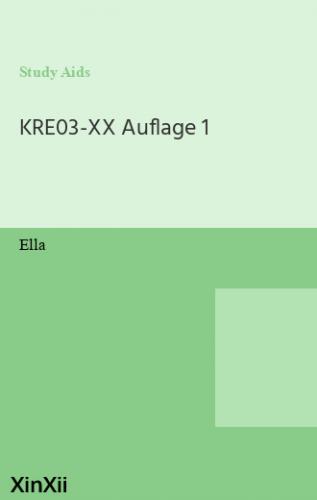 KRE03-XX Auflage 1