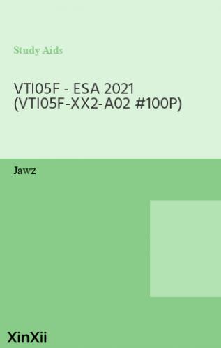VTI05F - ESA 2021 (VTI05F-XX2-A02 #100P)
