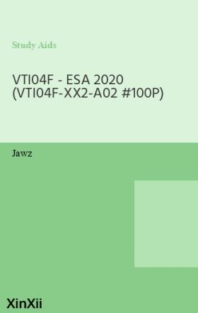 VTI04F - ESA 2020 (VTI04F-XX2-A02 #100P)