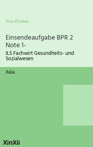 Einsendeaufgabe BPR 2 Note 1-