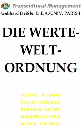 DIE WERTE-WELTORDNUNG