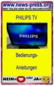 Philips TV Bedienungsanleitung für (siehe Beschreibung)