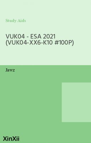 VUK04 - ESA 2021 (VUK04-XX6-K10 #100P)
