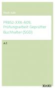 PR852-XX6-A09, Prüfungsarbeit Geprüfter Buchhalter (SGD)