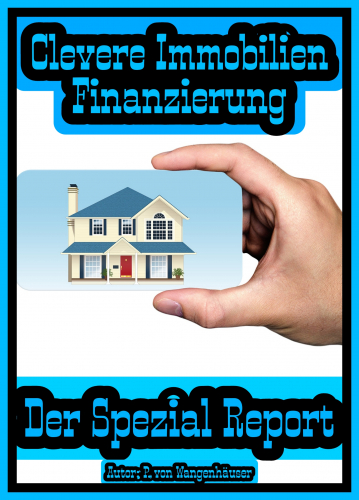 Clevere Immobilien Finanzierung