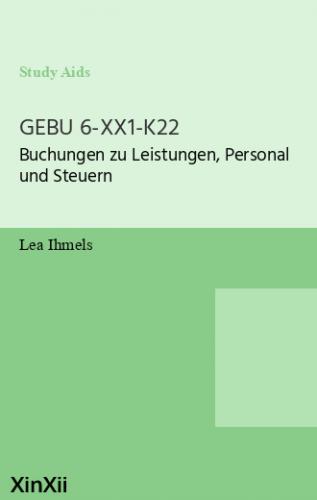 GEBU 6-XX1-K22