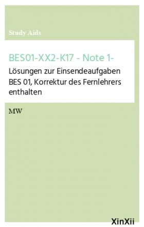 BES01-XX2-K17 - Note 1-