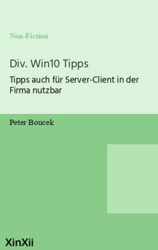Div. Win10 Tipps