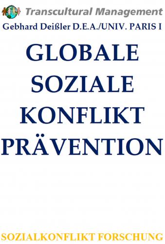 GLOBALE SOZIALE KONFLIKTPRÄVENTION