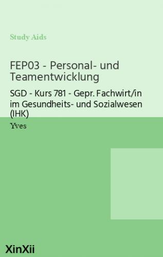 FEP03 - Personal- und Teamentwicklung