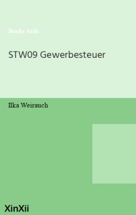 STW09 Gewerbesteuer