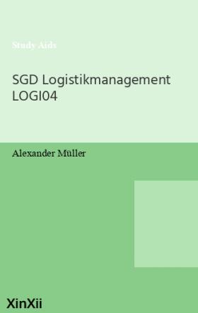SGD Logistikmanagement LOGI04