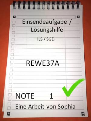 REWE37A // REWE37A - XX1 - N01 // Note 1