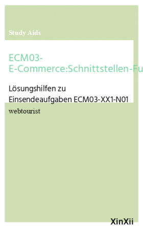 ECM03- E-Commerce:Schnittstellen-Funktionalitäten-Gütesiegel