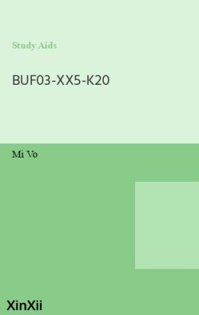 BUF03-XX5-K20