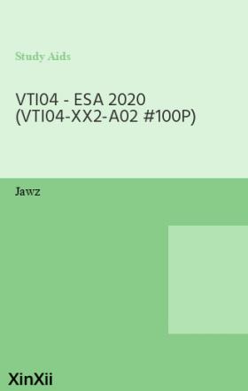 VTI04 - ESA 2020  (VTI04-XX2-A02 #100P)