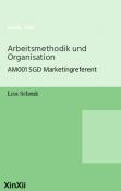 Arbeitsmethodik und Organisation