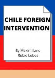 CHILE FOREIGN INTERVENTION